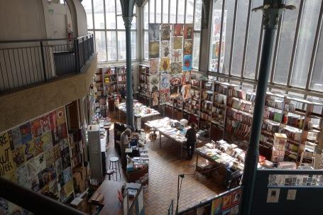 librairie Halle Saint-Pierre
