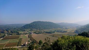Vue sur le Luberon